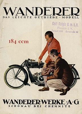 Wanderer 184 ccm Prospekt 4.1927