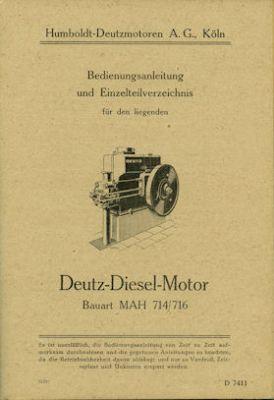 Deutz-motor Technische Daten U Literatur & Videos Sonstige Wartungshinweise Verbraucher Zuerst