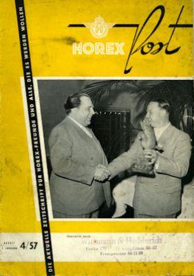 Horex Hauspost 1957 Heft 4