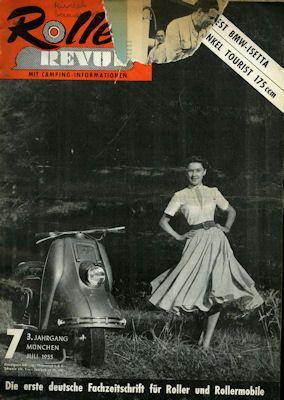 Roller Revue 1955 Heft 7