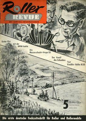 Roller Revue 1955 Heft 5
