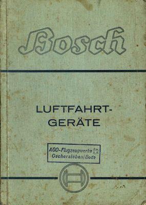 Bosch Luftfahrt-Geräte Katalog 10.1940