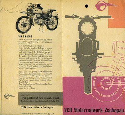 MZ Programm 1959
