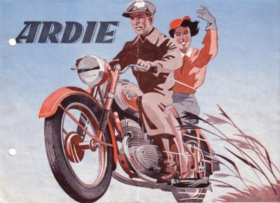 Ardie B 251 Prospekt 1951
