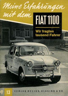 Meine Erfahrungen mit dem Fiat 1100 1959