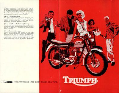 Triumph Programm 1964 e