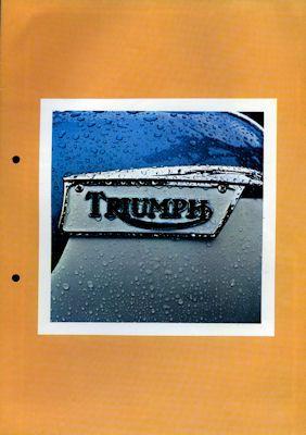 Triumph Programm 1972