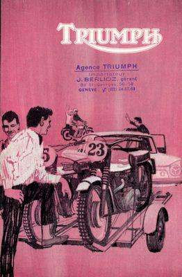 Triumph Programm 1965