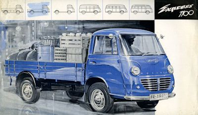 Goliath Express 1100 Pritsche Prospekt ca. 1960