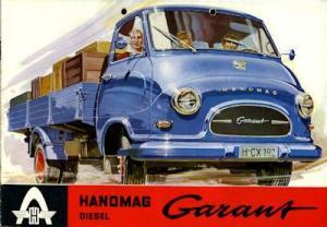 Hanomag Garant Diesel Prospekt 1.1961