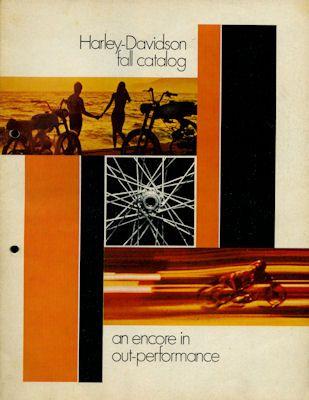 Harley-Davidson Programm 1970