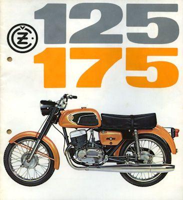 Jawa - CZ 125 175 Prospekt 1972