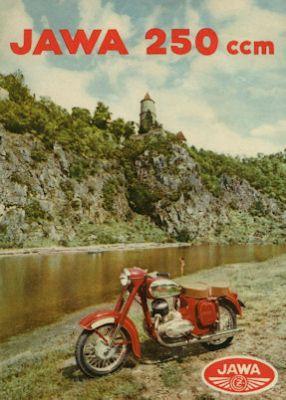 Jawa - CZ 250 Prospekt ca. 1960