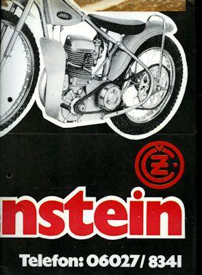 Jawa - CZ Programm ca. 1970