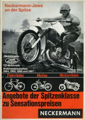Jawa - CZ Programm 9.1967 0