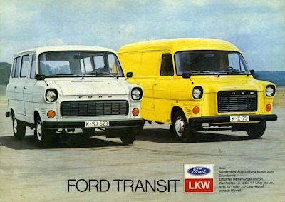 Ford Transit Prospekt 1976 0