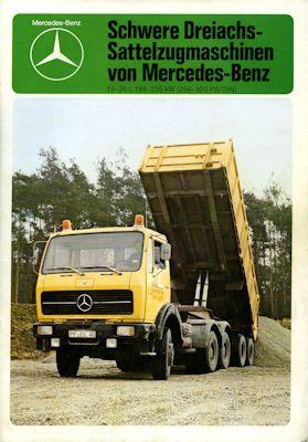 Mercedes-Benz Sattelzugmaschinen Prospekt 12.1978 0