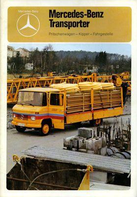 Mercedes-Benz Transporter Prospekt 1976 0
