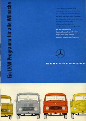 Mercedes-Benz Programm 8.1959 0