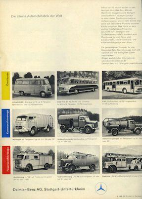 Mercedes-Benz Programm 8.1959 1