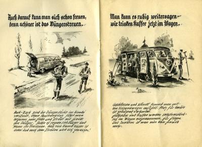 VW und die Landwirtschaft Broschüre 1950er Jahre 3