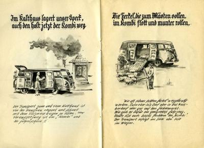 VW und die Landwirtschaft Broschüre 1950er Jahre 4