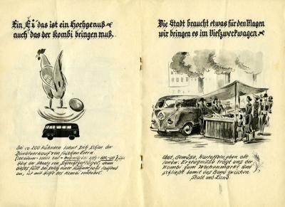 VW und die Landwirtschaft Broschüre 1950er Jahre 6
