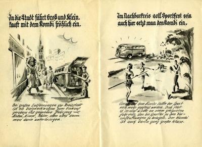 VW und die Landwirtschaft Broschüre 1950er Jahre 7