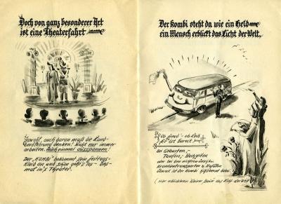 VW und die Landwirtschaft Broschüre 1950er Jahre 8