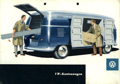VW Kastenwagen T1 Prospekt ca. 1954 0