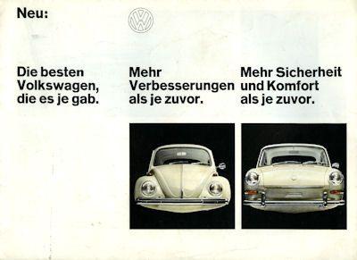 VW Programm 8.1967 0
