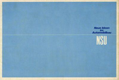 NSU Pkw Programm 1969 0