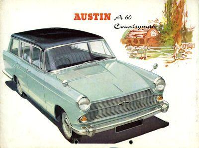 Austin A 60 Countryman Prospekt ca. 1965 0