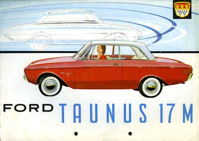 Ford Taunus 17 M Prospekt ca. 1963 0