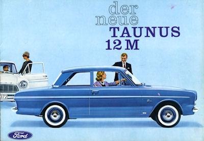 Ford Taunus 12 M P 4 Prospekt 1962 0