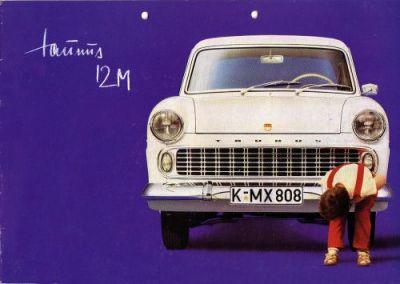 Ford Taunus 12 M Prospekt 1960 0