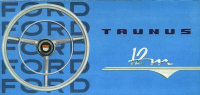 Ford Taunus 12 M Prospekt 1961 0