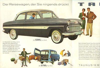 Ford Taunus 12 M Prospekt 1961 1