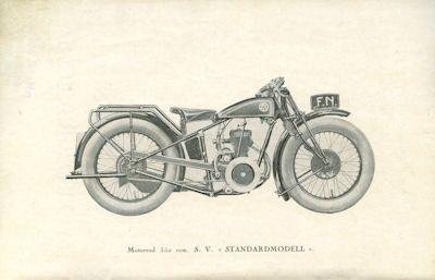 FN 350 ccm SV Ersatzteilliste ca. 1930 1