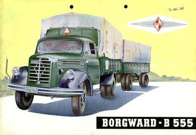 Borgward B 555 Prospekt 11.1959 0