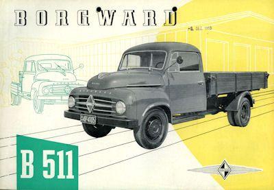 Borgward B 511 Prospekt 10.1959 0