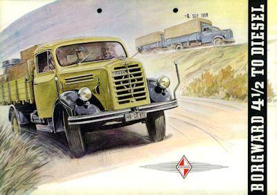 Borgward B 4500 A Prospekt 9.1958 0