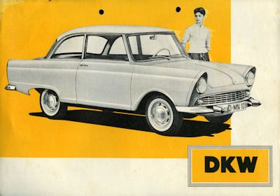 DKW Junior Prospekt 9.1957 0