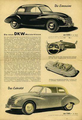 DKW Programm 4.1951 0