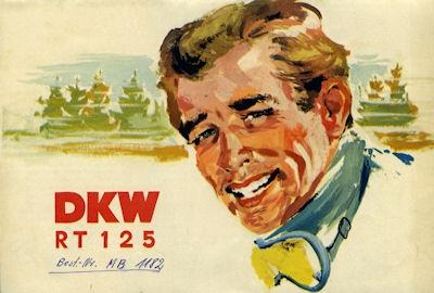 DKW RT 125 Prospekt 8.1953 0