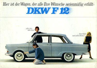 DKW F 12 Prospekt ca. 1965 0