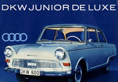 DKW Junior de Luxe Prospekt ca. 1961 0