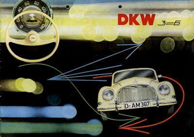 DKW 3=6 Prospekt 1955-59 f 0