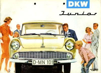 DKW Junior Prospekt 1959 0