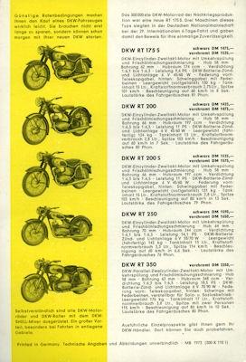 DKW Programm ca. 1957/58 1